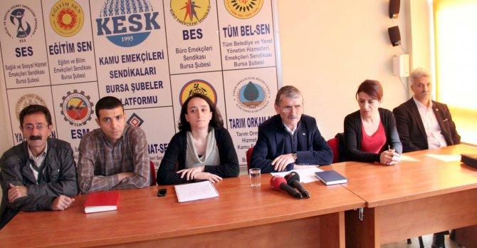 27 sendikacının her birine 1 yıl 3 ay hapis cezası verildi