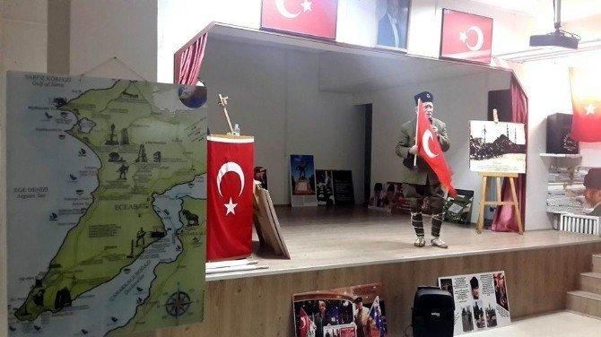 Turgut Kaçmaz Gençlere Çanakkale'yi Anlattı