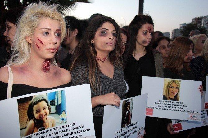Kadın Cinayetlerine 'Makyajlı' Tepki