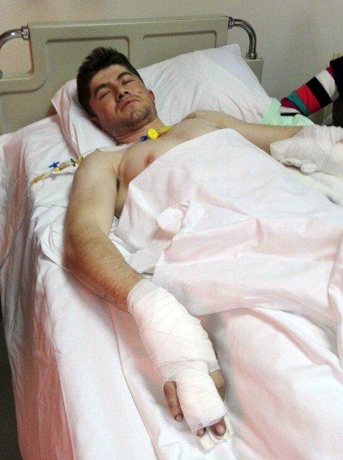 Ereğlili Uzman Çavuş, Sur'da Yaralandı