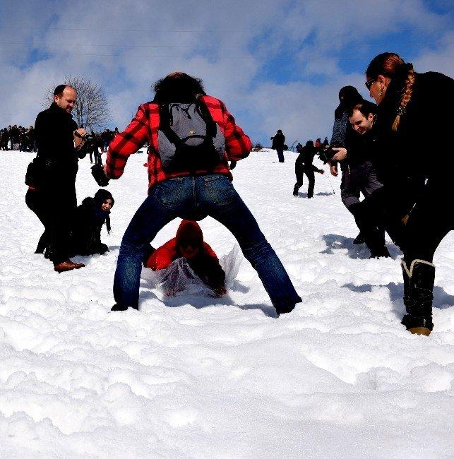 Kulakkaya Yaylası'nda Kar Festivali