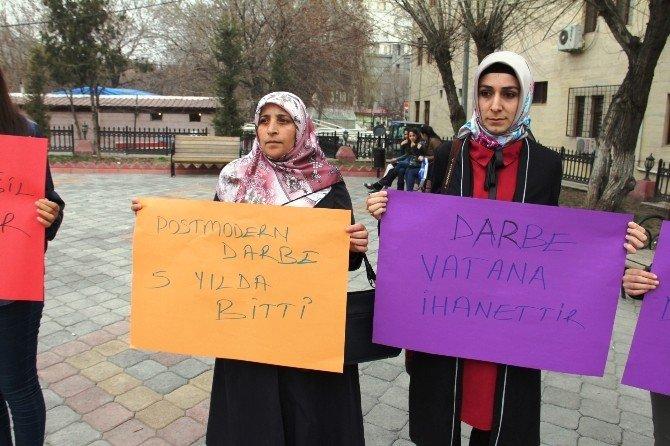 Iğdır'da 28 Şubat Protestosu