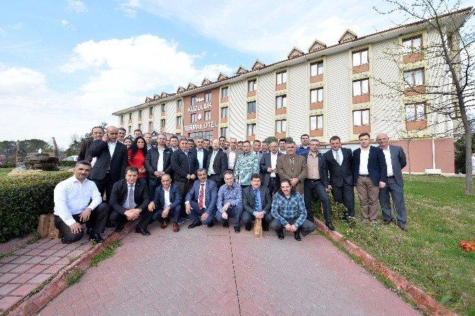 İHA, 2015'i İhlas Kuzuluk Termal Otel'de Değerlendirdi