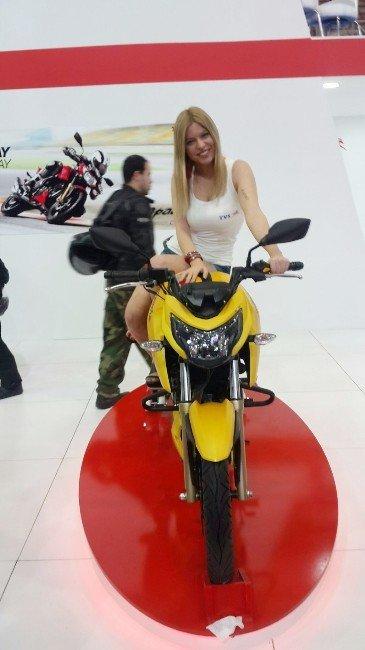 Motosiklet Tutkunları Fuarda Buluştu