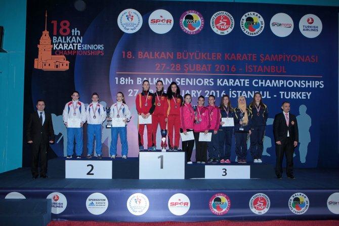 Karatede Balkanların zirvesinde Türkiye var