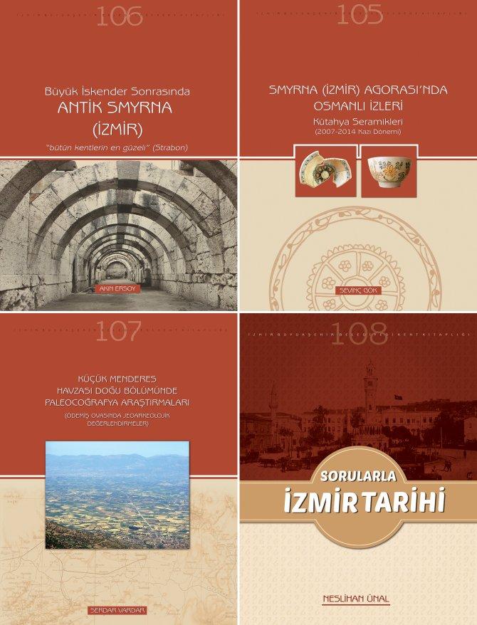 İzmir'in tarihini anlatan dört yeni kitap yayımlandı