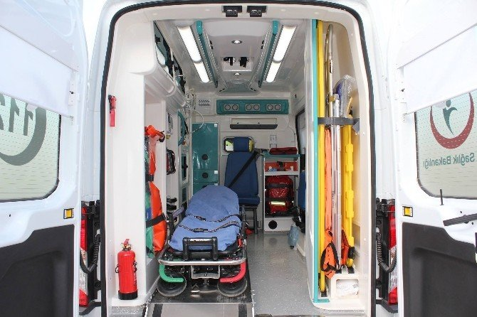 Kahta Devlet Hastanesi'ne Tam Donanımlı Ambulans