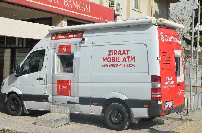 Kahta'da Mobil Atm Hizmeti