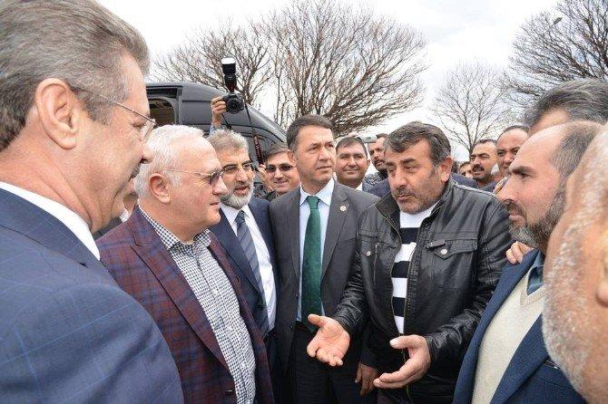 Kayseri Şeker Pancar Çiftçileri; Şeker Pancarı Kotalarının Artırılması Taleplerini Ekonomi Bakanına İletti