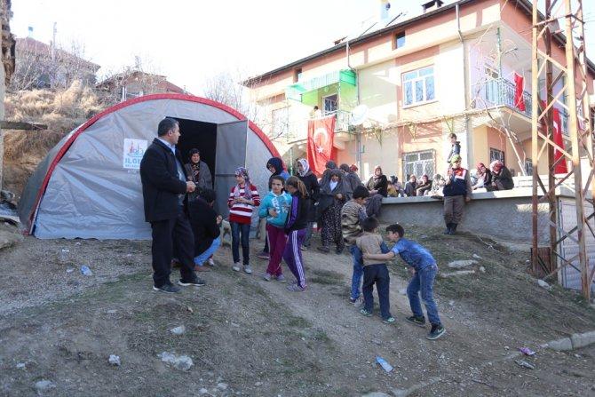 Şehit Özel Harekat Polisi Çetin'in Konya'daki baba ocağına ateş düştü