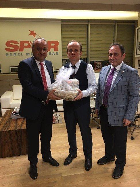 Başkan Babaş İşe Milletvekili Demir, Spor Genel Müdürü'nü Ziyaret Etti