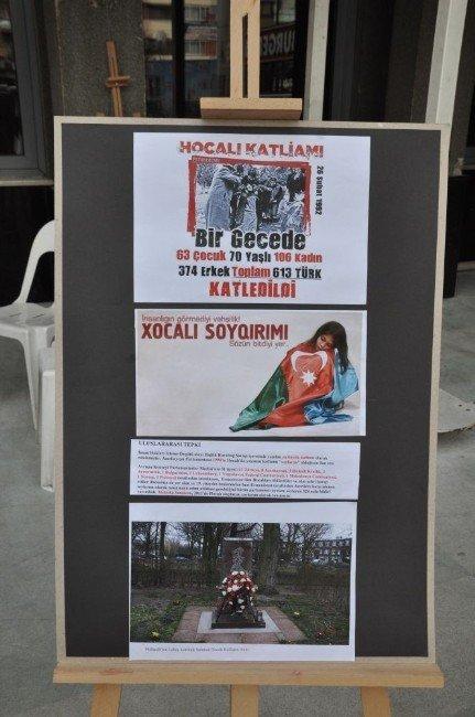 Nazilli'de Hocalı Katliamı Resimlerle Anlatıldı