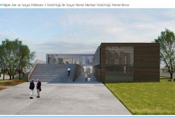 Aile Ve Sosyal Politikalar İl Müdürlüğü'ne Yeni Hizmet Binası