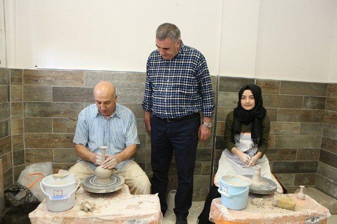 Geleneksel Sanatlar İhtisas Merkezi Hizmete Alındı
