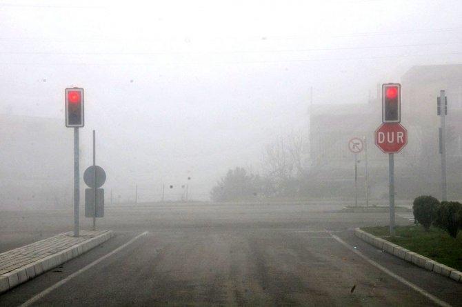 Samsunlular güne sis ile uyandı