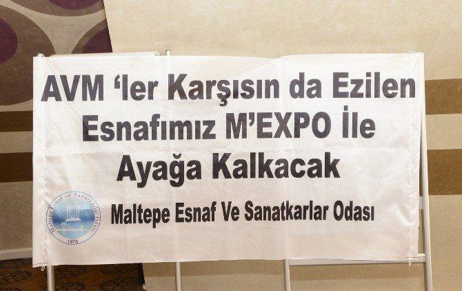 Maltepe Esnafının Umudu M'expo'da
