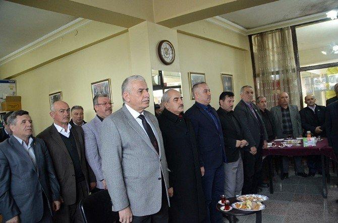 Tosya Mahalle Muhtarları Dernek Başkanlığına Halim Koçak Seçildi