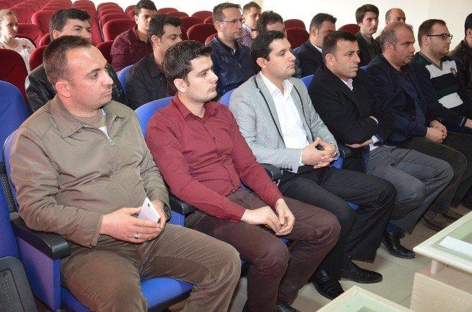 Viranşehir'de Fatih Projesi Ve Eğitim Bilişim Ağı Toplantısı Yapıldı.