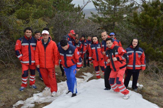 Yozgat UMKE ekibi yılın ilk tatbikatını yaptı