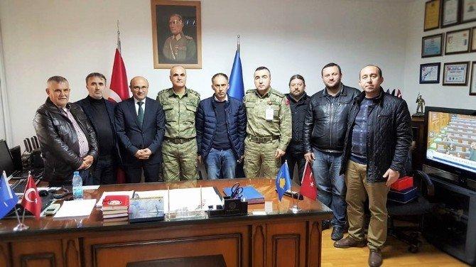 Başkan Oral'dan Kosova Türk Gücü'ne Ziyaret