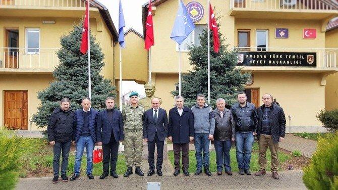 Oral'dan Kosova Türk Gücü'ne Ziyaret