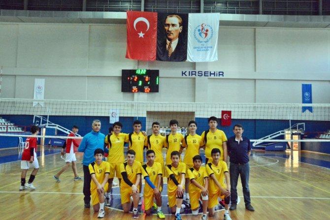 ANALİG Voleybol çeyrek final müsabakaları Kırşehir'de yapıldı