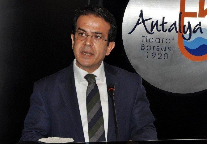 Antalya Ticaret Borsası Başkanı Ali Çandır: