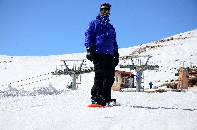 Avrupa Destinasyonlu Kayak Merkezine Büyük İlgi