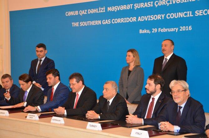 Güney Gaz Koridoru toplantısı sona erdi