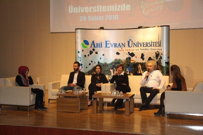 İftarlık Gazoz Filmi Oyuncuları Kırşehir'de Söyleşiye Katıldı