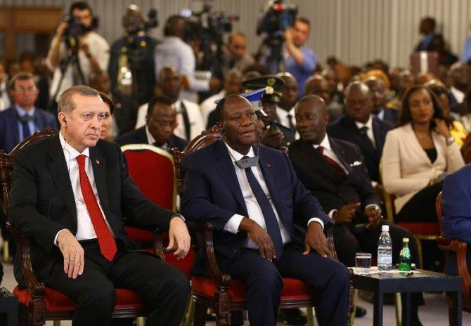 Fildişili kabileler, Cumhurbaşkanı Erdoğan'ı bilge seçti