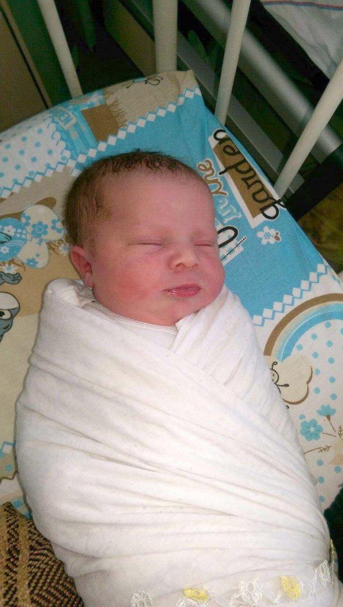 Dört yılda bir yaşanan 29 Şubat'ın ilk bebeği Batman'da dünyaya geldi