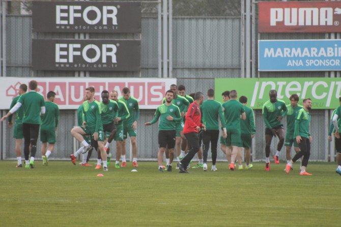 Bursaspor, Çaykur Rizespor maçının hazırlıklarına başladı