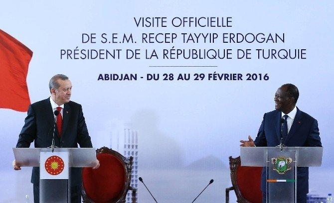 """Erdoğan: """"Suriye'nin Genelinde Şu Anda Ateşkes Yoktur"""""""