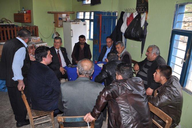 Milletvekili Tümer: Köylümüzü ezdirmeyiz