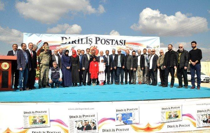 Diriliş Postası İlk Kuruluş Yıl Dönümünü Çadır Kentte Mültecilerle Kutladı