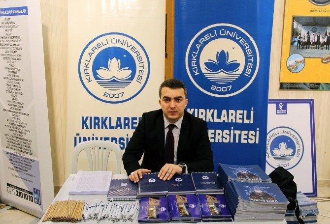 Kırklareli Üniversitesi İstanbul'da Tanıtım Fuarı'na Katıldı