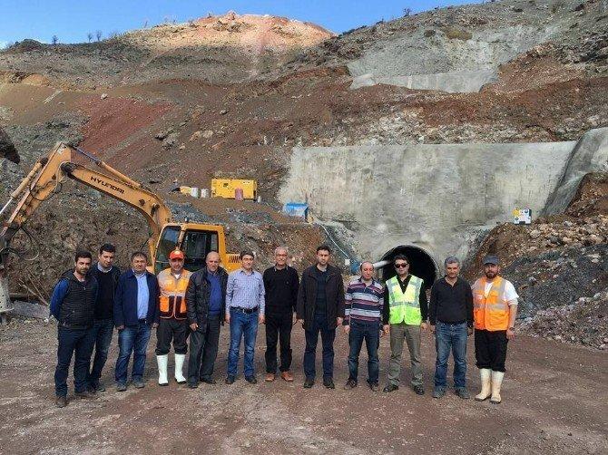 Koçali Barajı'nda Çalışmalar Hızla Sürüyor