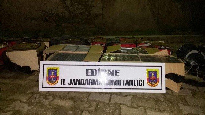 Edirne'de Kaçakçılık Operasyonları