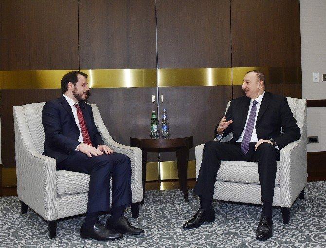Berat Albayrak, Azerbaycan Cumhurbaşkanı Aliyev Tarafından Kabul Edildi