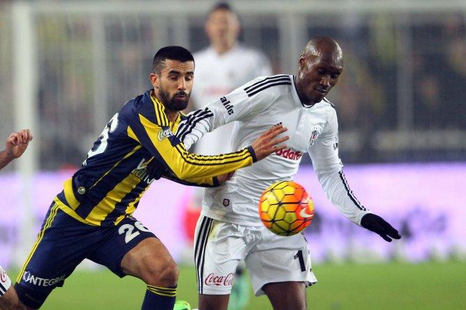 Fenerbahçe: 1 - Beşiktaş: 0 (İlk yarı)