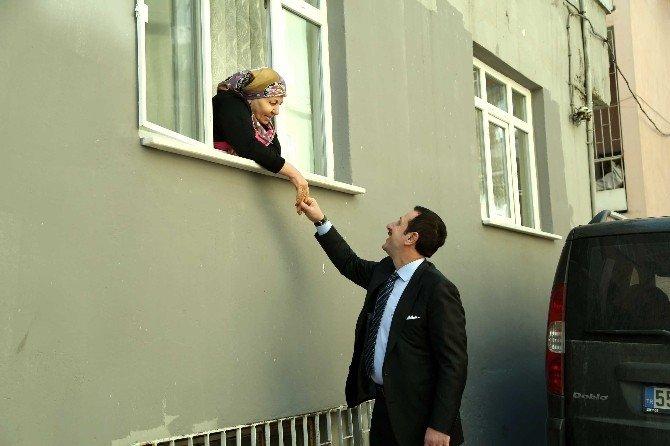 """Başkan Tok: """"İlkadım'ın Çehresini Değiştiriyoruz"""""""