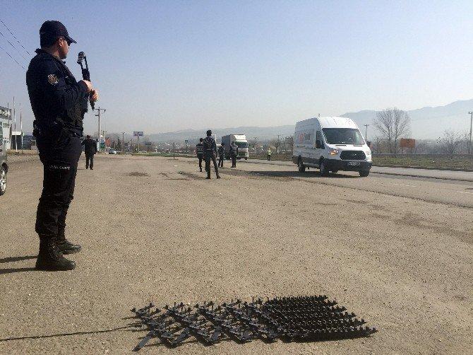 Bolu Polisinden Kapanlı Terör Uygulaması