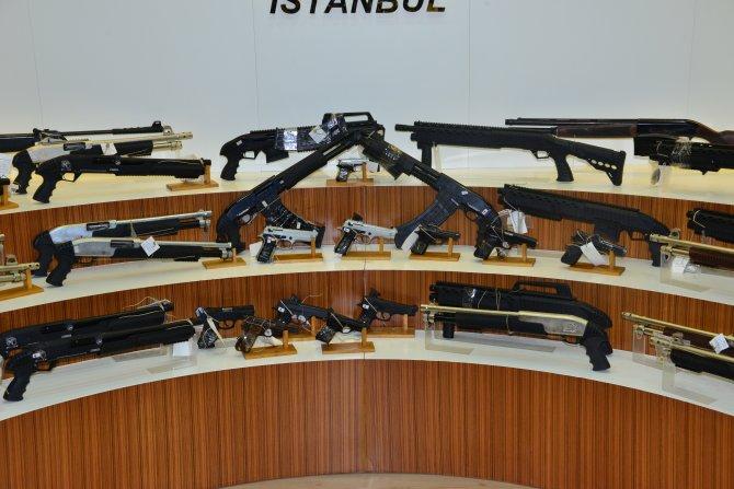 Polisten uzun namlulu silah operasyonu