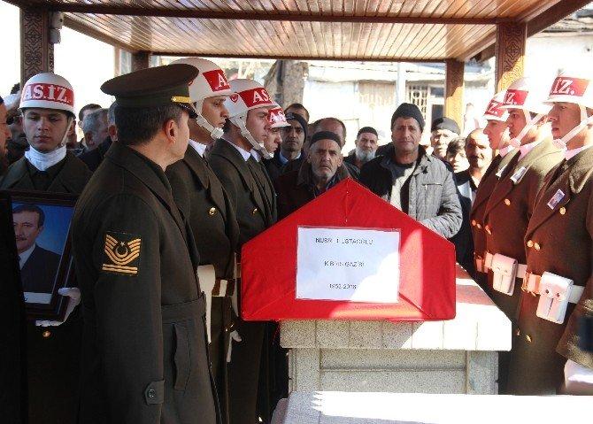 Kalp Krizi Sonucu Hayatını Kaybeden Kıbrıs Gazisi, Son Yolculuğuna Uğurlandı