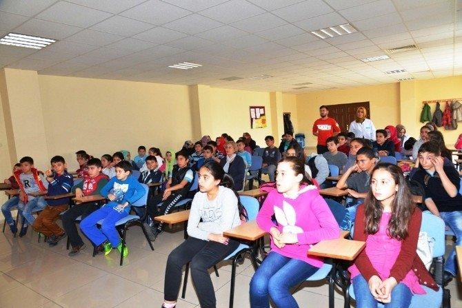 Çocuk Meclisi Üyelerine Uygulamalı Sivil Savunma Eğitimi