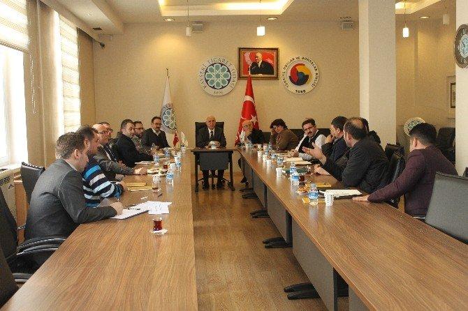 Kayseri Ticaret Odası, Fuarlara Katılan Üyelerini Dinledi