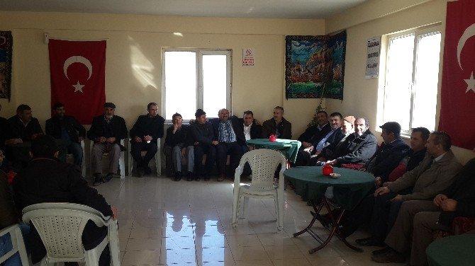 Kocasinan Ziraat Odası Çiftçileri Ziyaret Ederek Sıkıntılarını Dinliyor