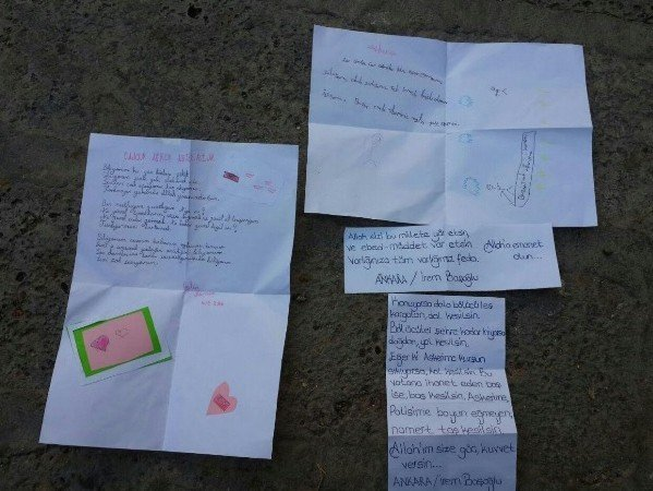 Kazanlı Çocuklardan Askerlere Moral Mektubu
