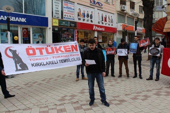 Kırklareli 'Ötüken' Hocalı Katliamını Unutmadı